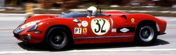 Ferrari 275P - Ed Hugus, Tom O'Brian, Charlie Hayes and Paul Richards