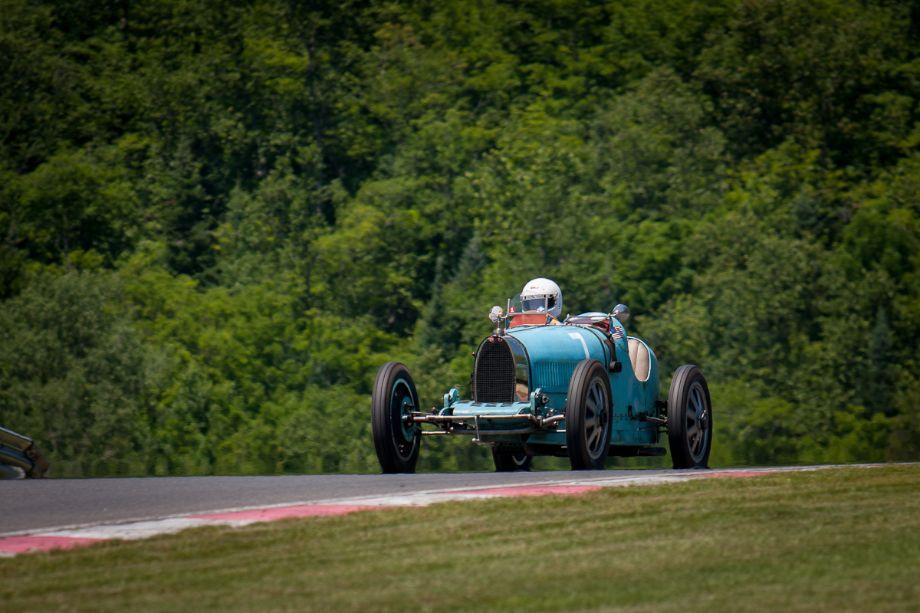 Nathael Greene's 1925 Bugatti Type 35. HMSA Sommet des Legendes 2013 (Taken at 1/500 sec.@ f/5.0 - ISO 100) © 2013 Victor Varela
