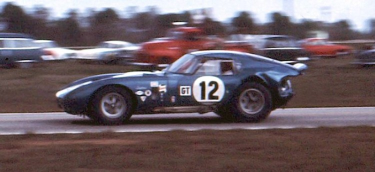 Shelby Cobra Daytona Coupe of Ed Leslie and Allen Grant