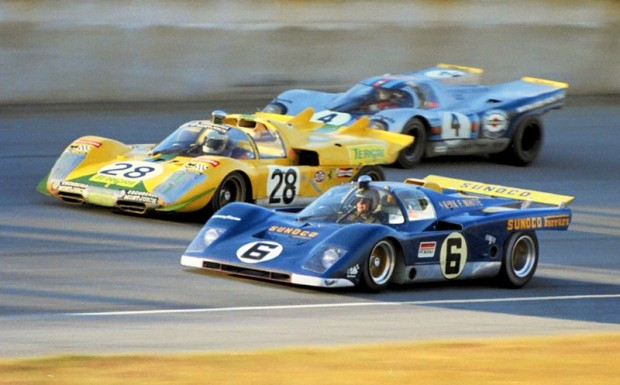 Penske Ferrari 512M of Mark Donohue and David Hobbs
