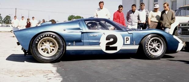 Ford GT40 Mk II, Dan Gurney, Jerry Grant, 427 engine
