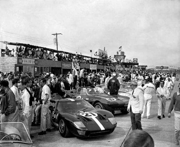 1966 Sebring 12 Hours starting grid