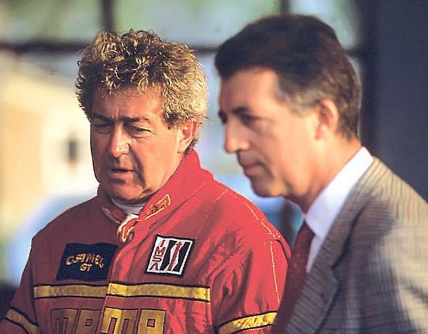 Gianpiero Moretti and Piero Ferrari