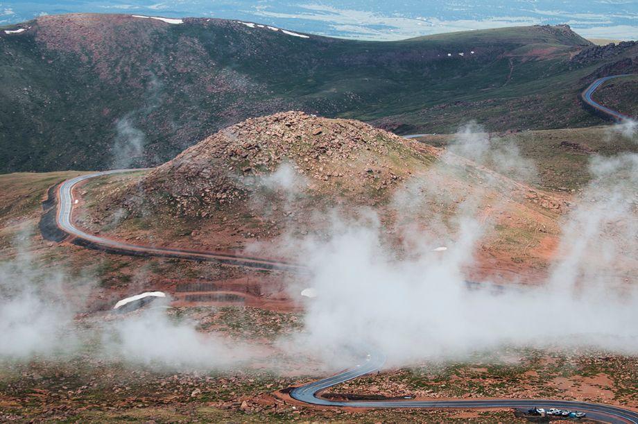 Steam at the 2013 Pikes Peak Hill Climb