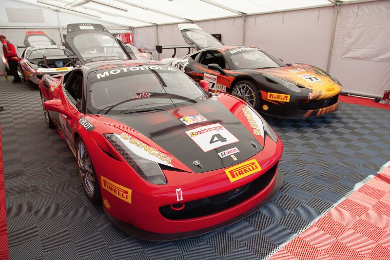 The Ferrari of Beverly Hills - 458 EVOs, prepped and ready to run