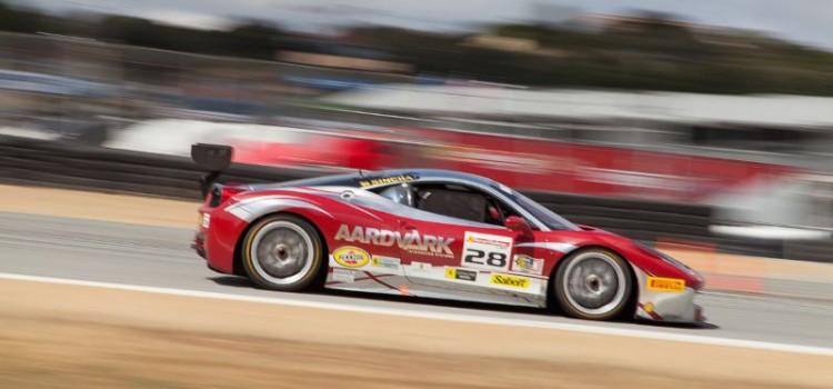 Jon Becker in the #28 Ferrari 458 EVO
