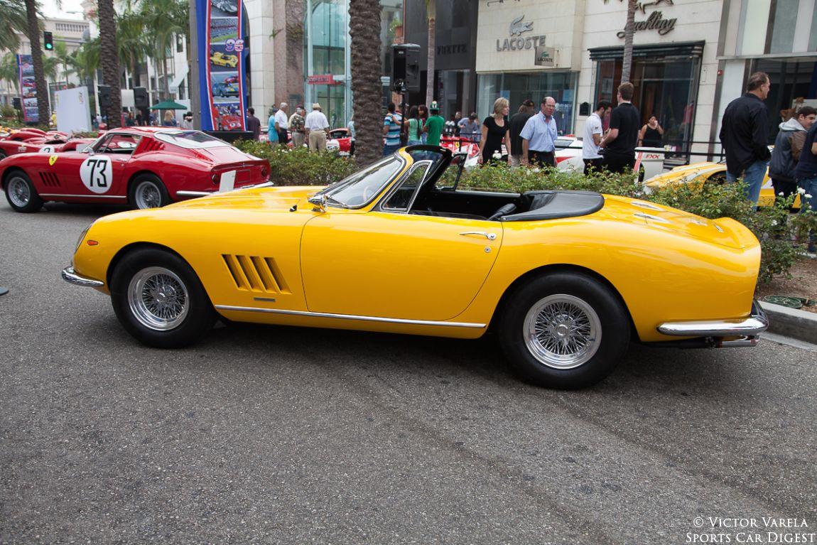 1967 Ferrari 275 GTS/4 NART Spyder - 2nd of 10, created at Luigi Chinetti's request.
