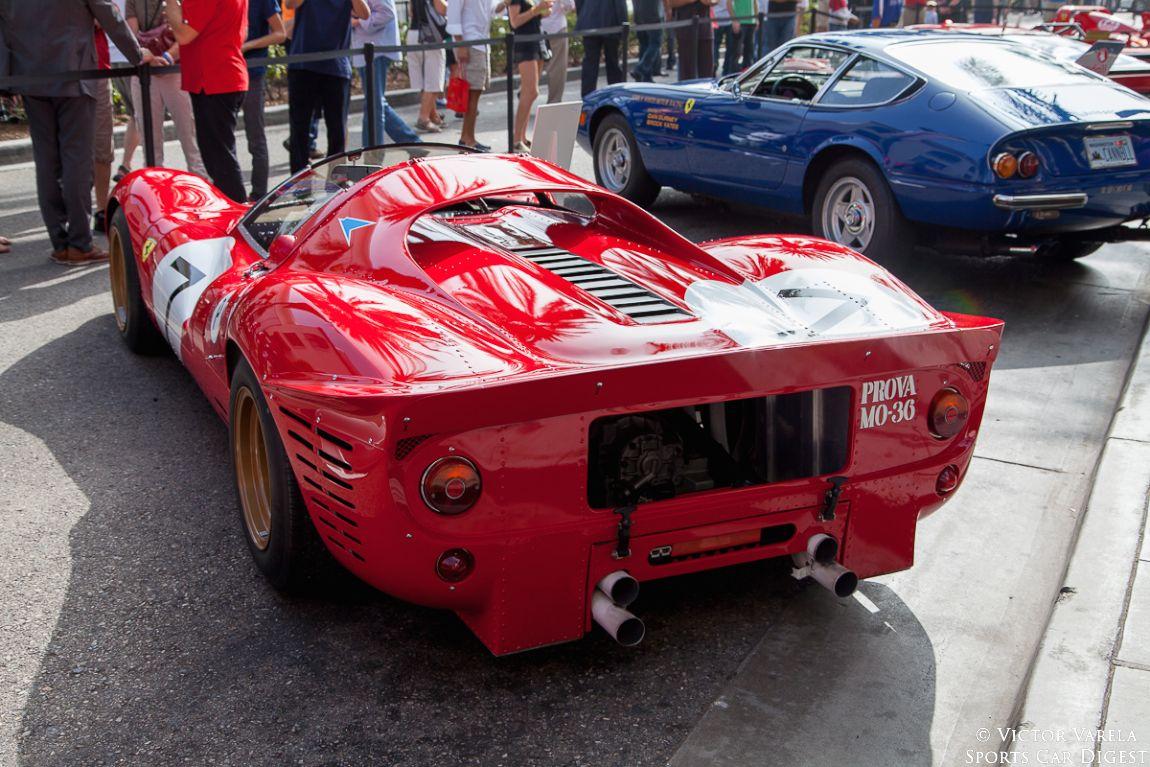 1967 Ferrari 330 P4 - 0856, only original 330 P4 remaining.