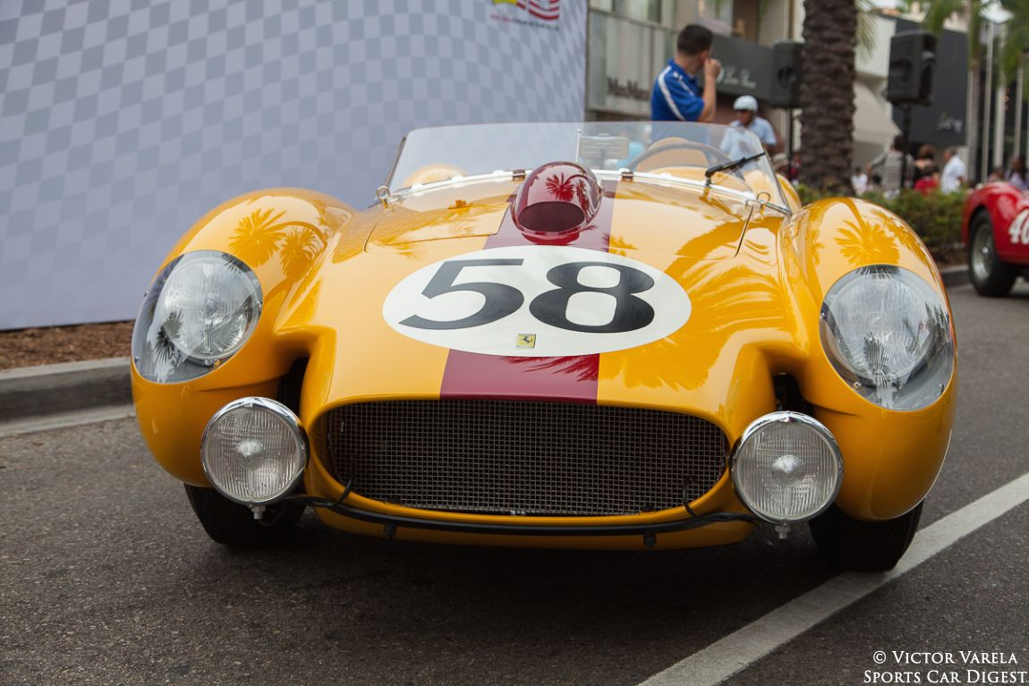 1958 Ferrari 250 TR (Testa Rossa) Le Mans livery - 0724 TR