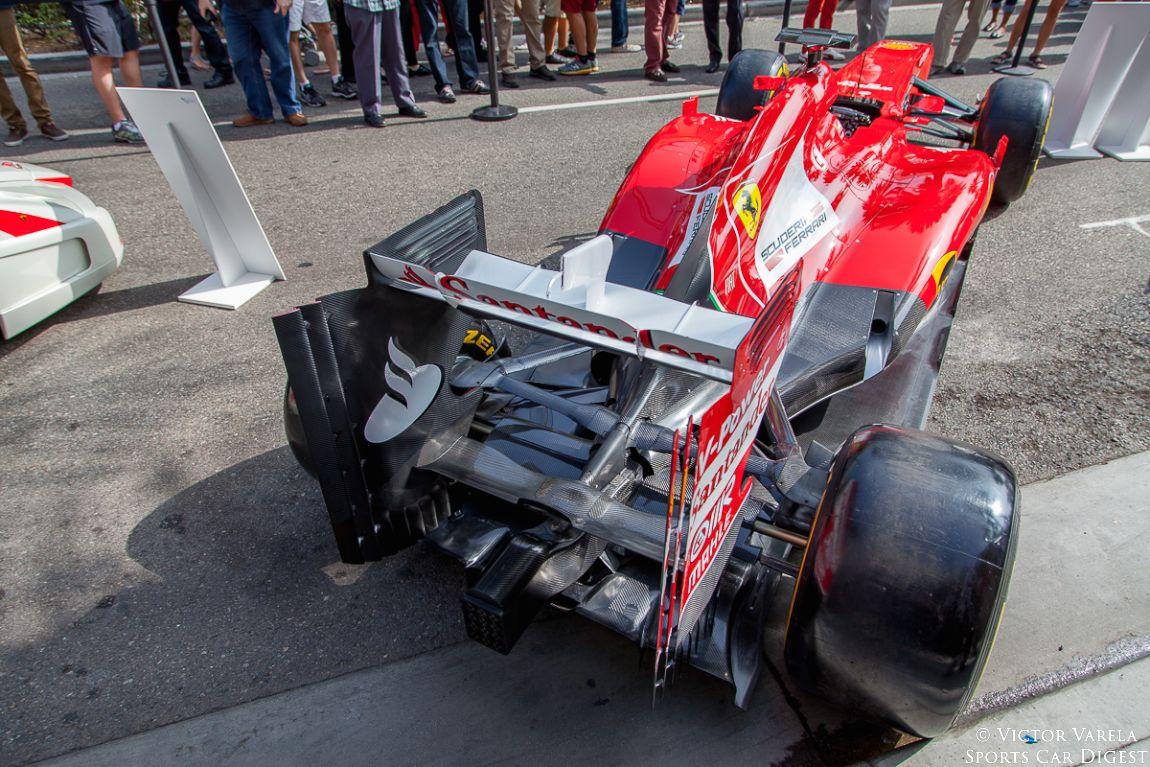 2013 Ferrari F138 Formula One race car