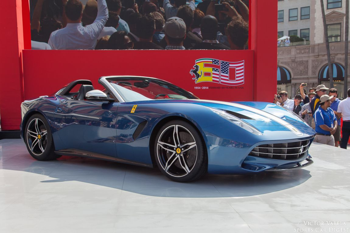 The newest model in the Ferrari family, made it's debut - the F60 America. This $3.12 million roadster is limited to only 10 examples.