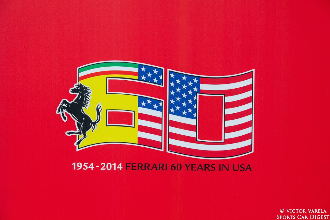 Race Through The Decades: 1954-2014. The 60th Anniversary of Ferrari in the US.