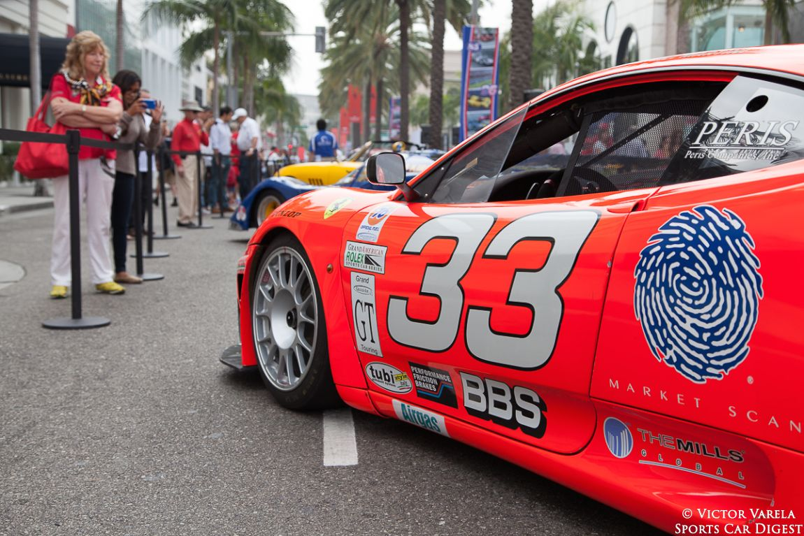 """Race cars were well represented at the """"Race Through The Decades: 1954-2014"""" Ferrari event"""