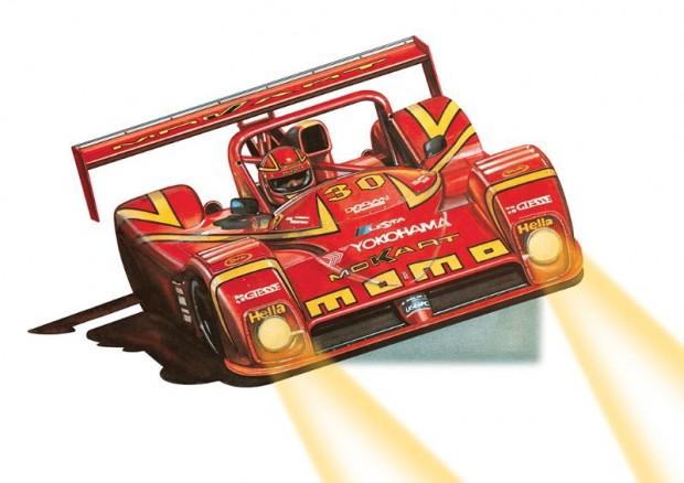 Ferrari 333 SP - d'Alessio artwork.