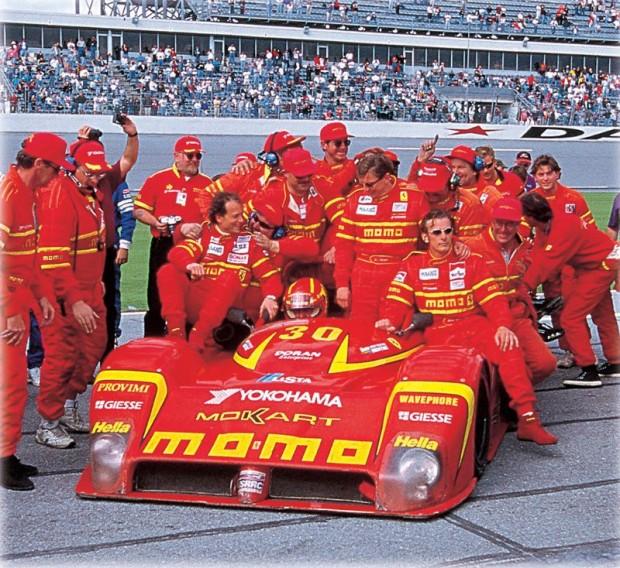 Winning MOMO team at Daytona in 1998.  MOMO photo.