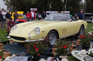 "1967 Ferrari 275 GTB/4S NART Spider used in ""The Thomas Crown Affair""."