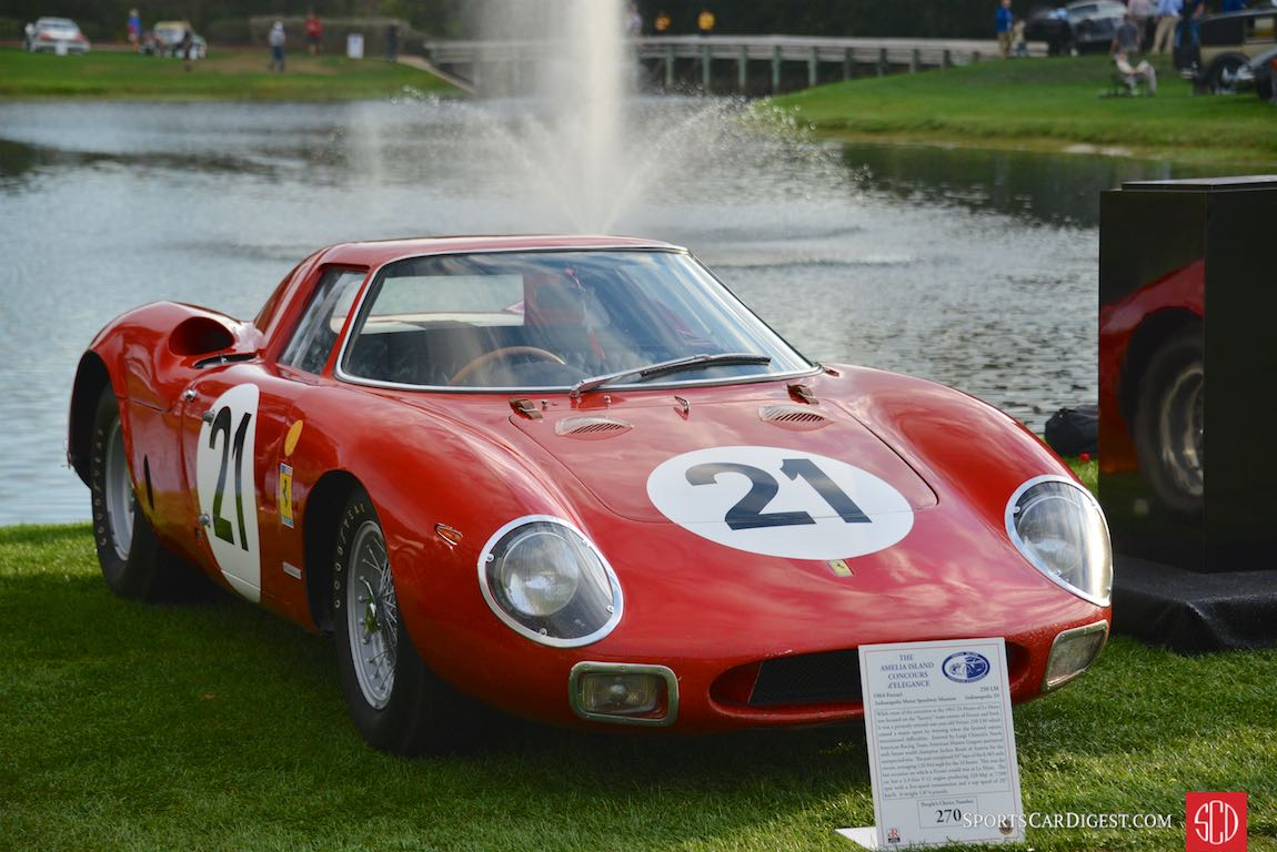 1964 Ferrari 250 LM, overall winner at the 24 Hours of Le Mans