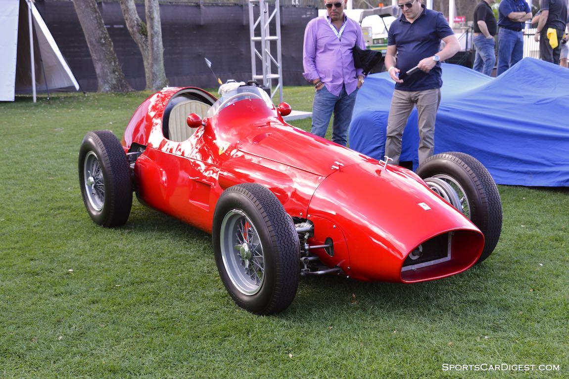 1954 Ferrari 625 4-cylinder F1
