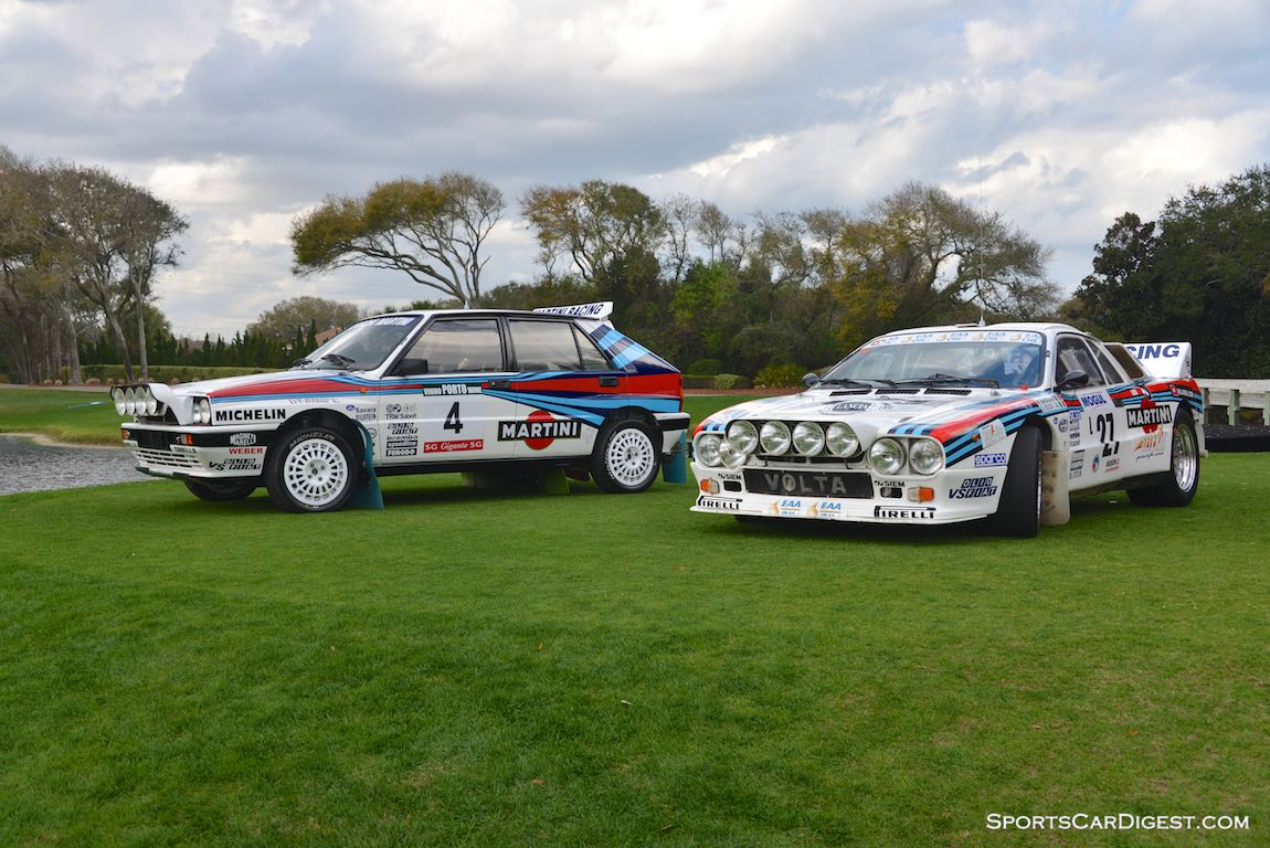 1988 Lancia Delta Integrale and 1983 Lancia 037