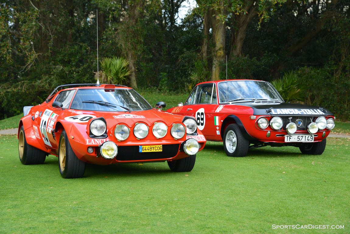 1975 Lancia Stratos and 1969 Lancia Fulvia