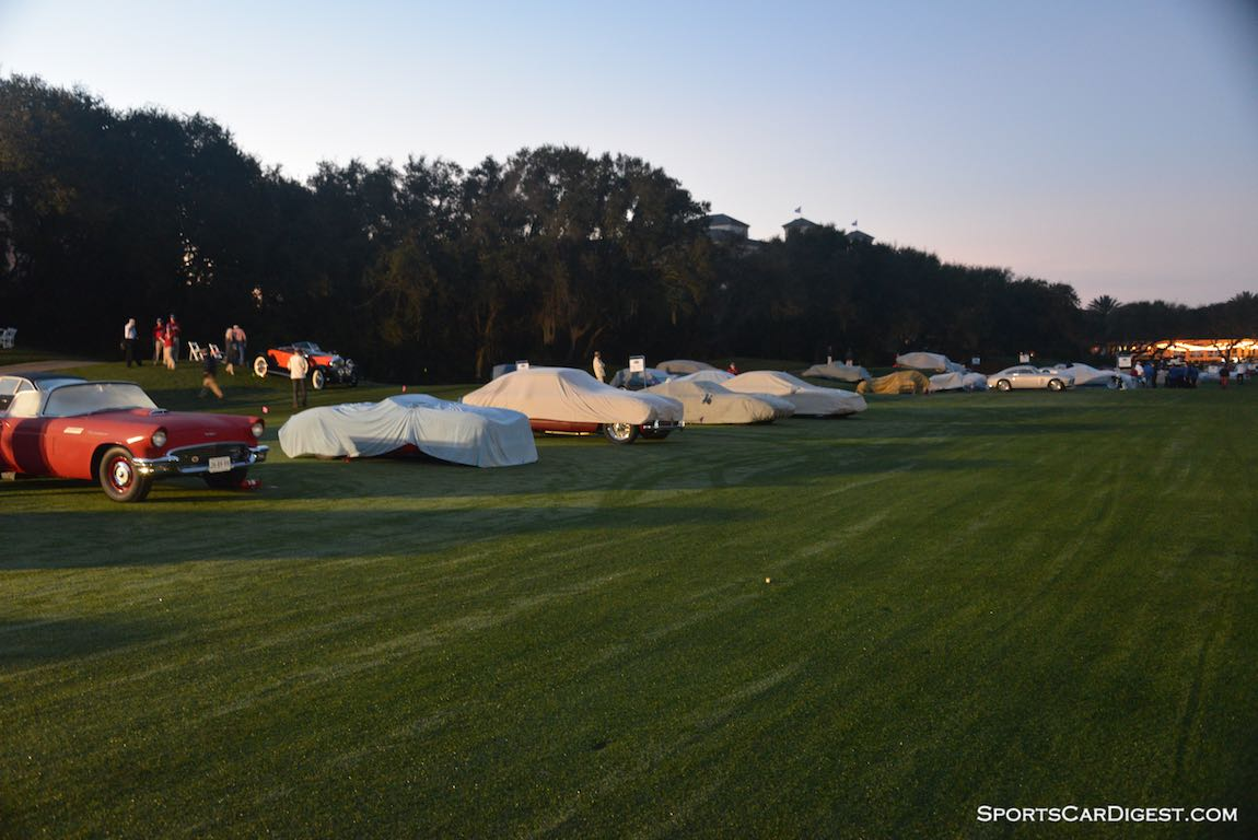 Early morning at the Amelia Island Concours d'Elegance 2015