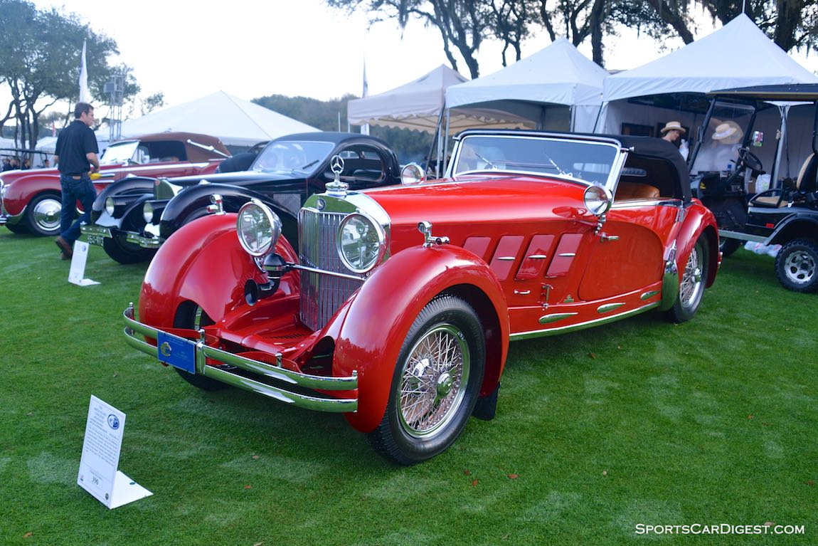 1928 Mercedes-Benz S by Armbruster