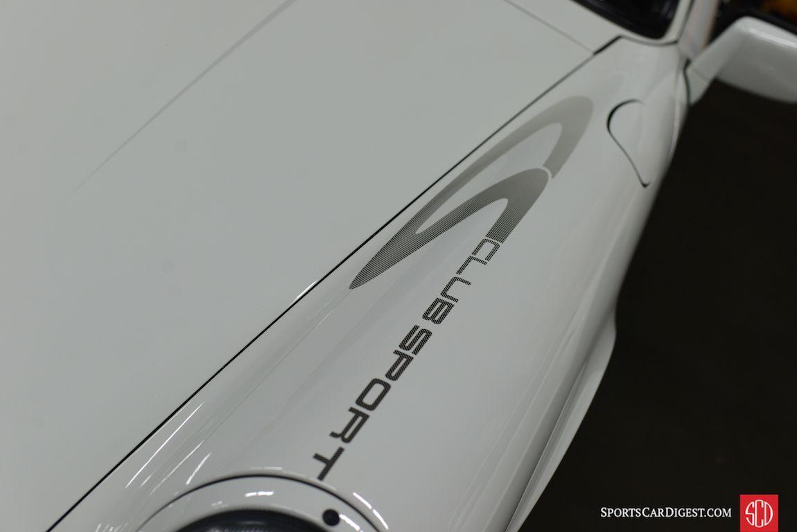 Porsche 911 Carrera Club Sport (Photo: Trevor Ely)