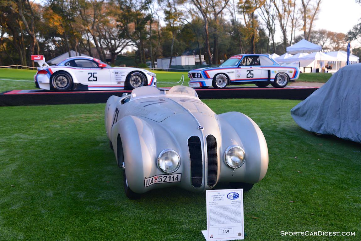 1937 BMW 328 Mille Miglia 'Bugelfalte'