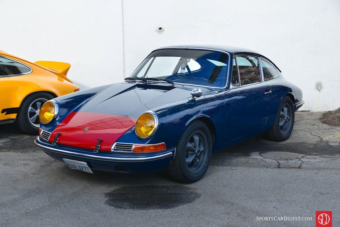 Hans Lapine's 1965 Porsche 911 (Photo: Trevor Ely)