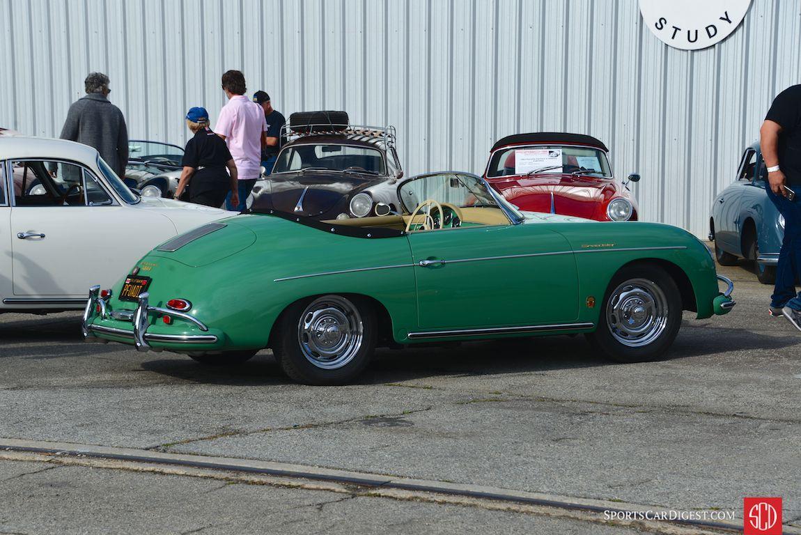 Beautiful Smyrna Green 356 Speedster (Photo: Trevor Ely)