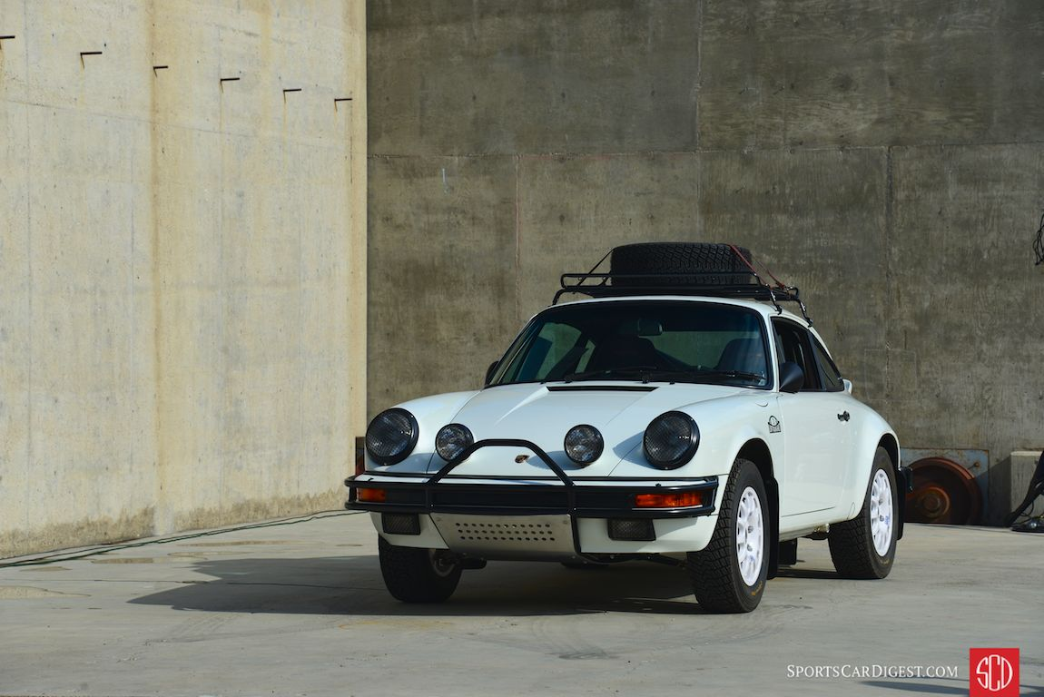 """Luft Auto"", the Luftgekühlt team's interpretation of a rally-style 911 (Photo: Trevor Ely)"