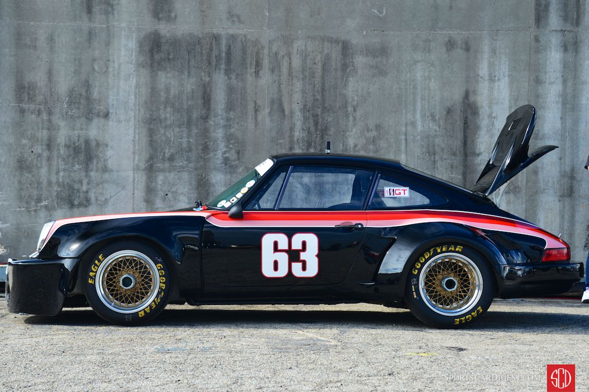 Jim Edwards' 1975 Porsche 911 Carrera RSR (Photo: Trevor Ely)