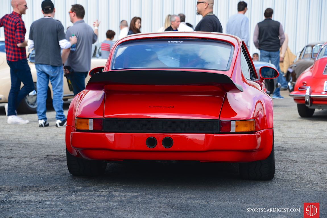 "BBi Autosport's ""Project Nasty"" 911 hot rod (Photo: Trevor Ely)"