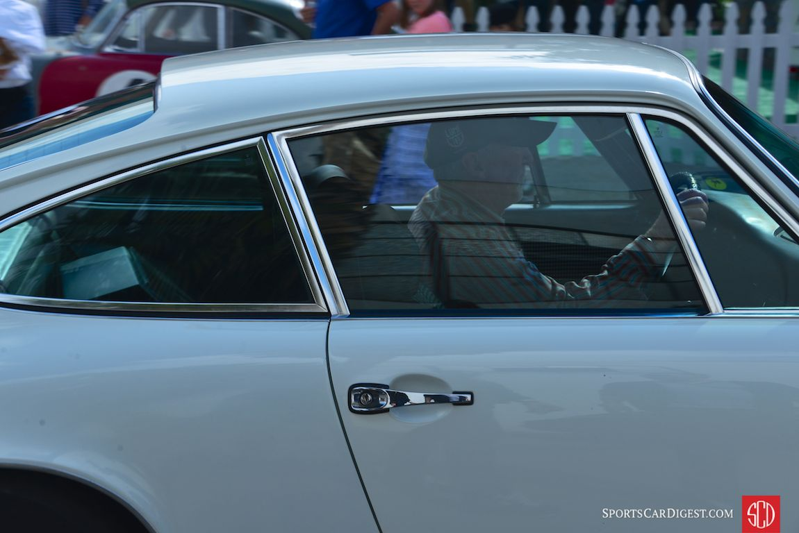 Jeff Zwart behind the wheel at Luftgekuhlt 3 (Photo: Trevor Ely)