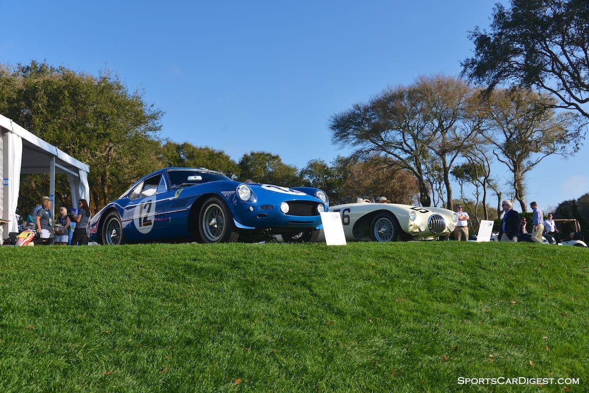 Ferrari 250 GT Speciale 'Sperimantale' and OSCA Sport Racer