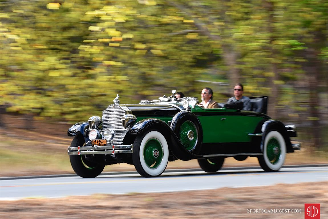 1929 Packard 645 Deluxe Eight Rollston Roadster driven by the Gas Monkey Garage crew