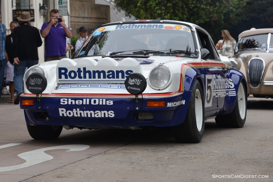 FIA Middle East Rally Championship-winning Rothmans 1984 Porsche 911 SCRS