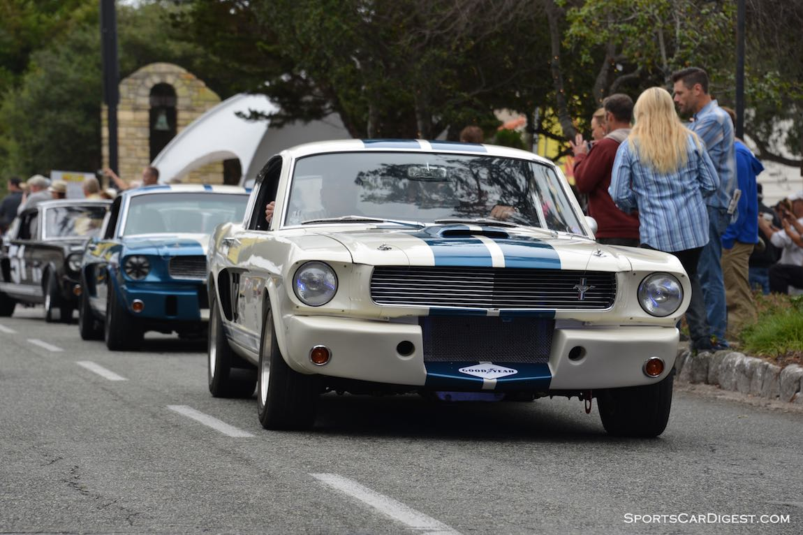 Shelby GT350 Mustangs from the Monterey Reunion