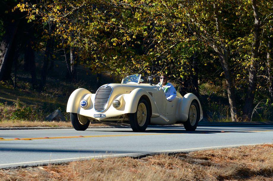 1934 Alfa Romeo 8C 2300 Zagato Spider