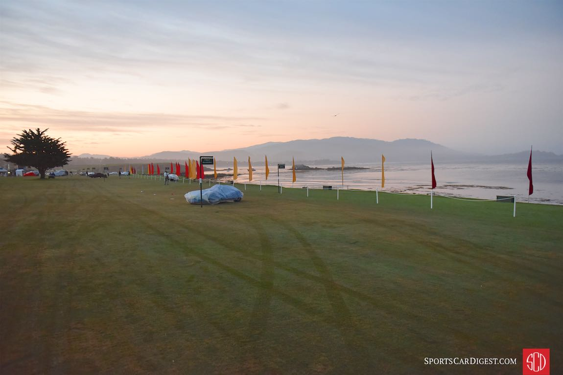 Calm Before The Storm - Early morning at the Pebble Beach Concours d'Elegance 2015