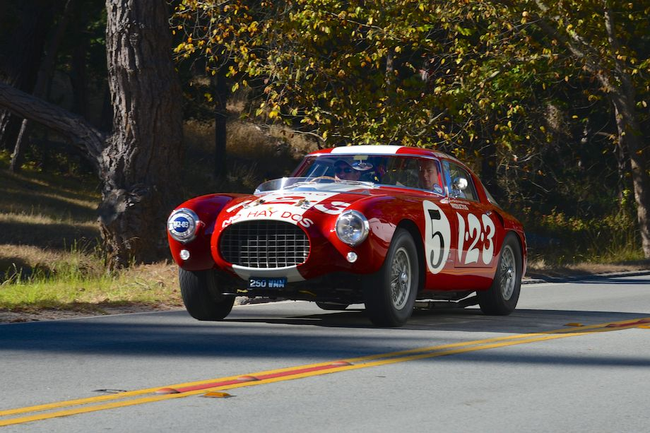 1953 Ferrari 250 MM Pinin Farina Berlinetta raced in the Carrera Panamericana