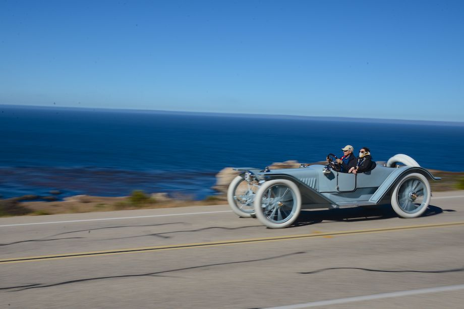1914 American Underslung 642 Roadster sits on massive 40-inch wheels