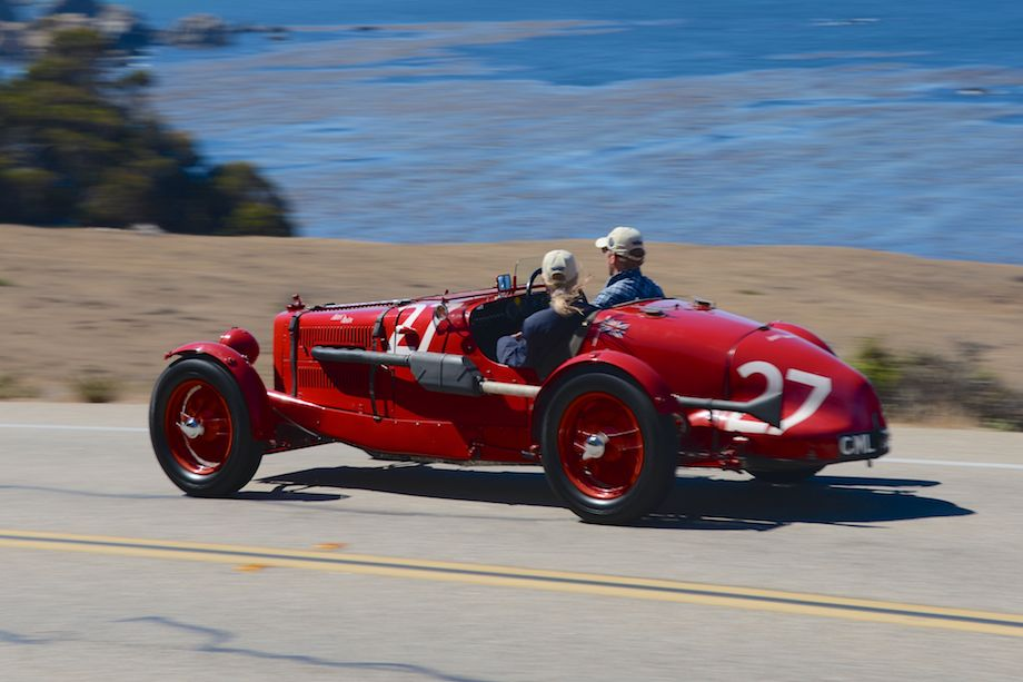 1935 Aston Martin Ulster Race Car