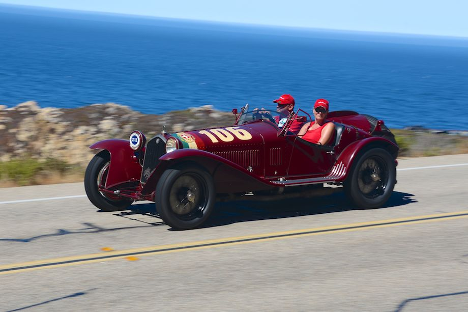 1932 Alfa Romeo 8C 2300 Mille Miglia Touring