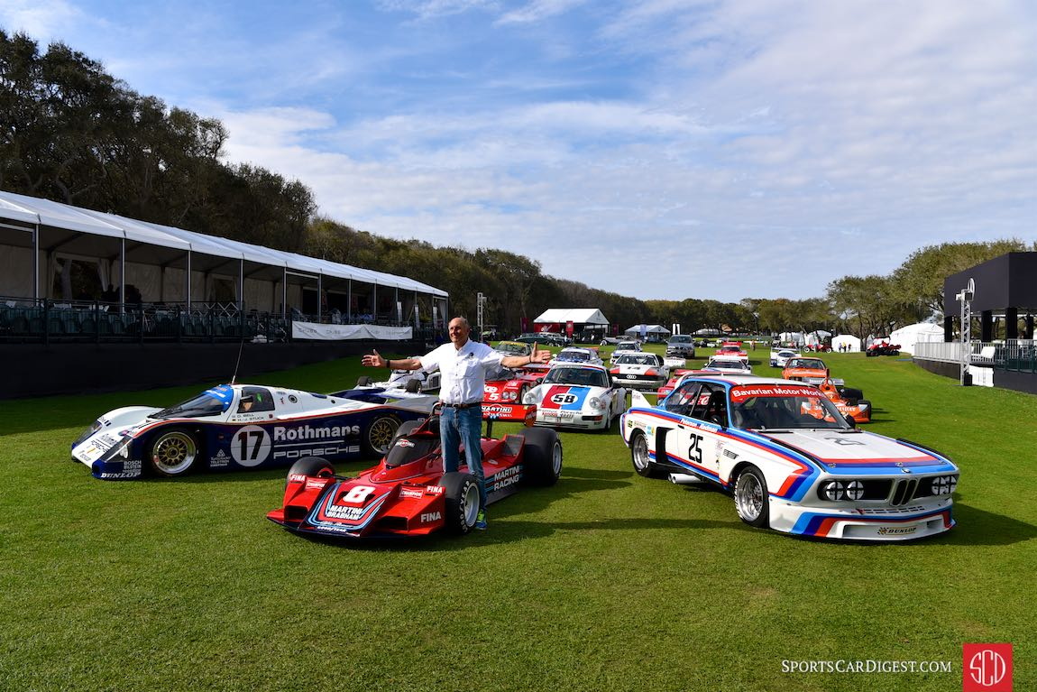 Hans-Joachim Stuck with a few of his old friends