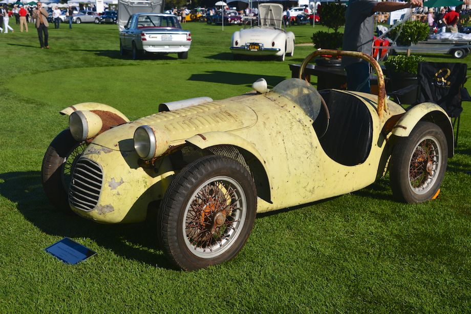 1950 Giaur Sport Internazionale, ex-Pete Lovely 1953 Pebble Beach Road Races entrant