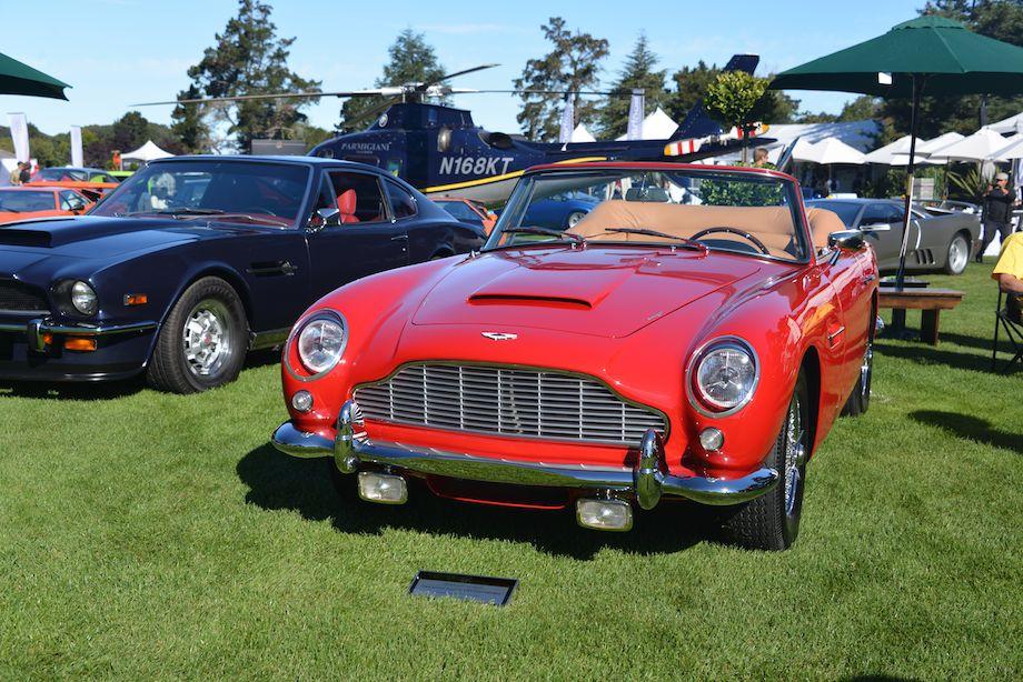 1964 Aston Martin DB5 Convertible was built for King Hussein of Jordan