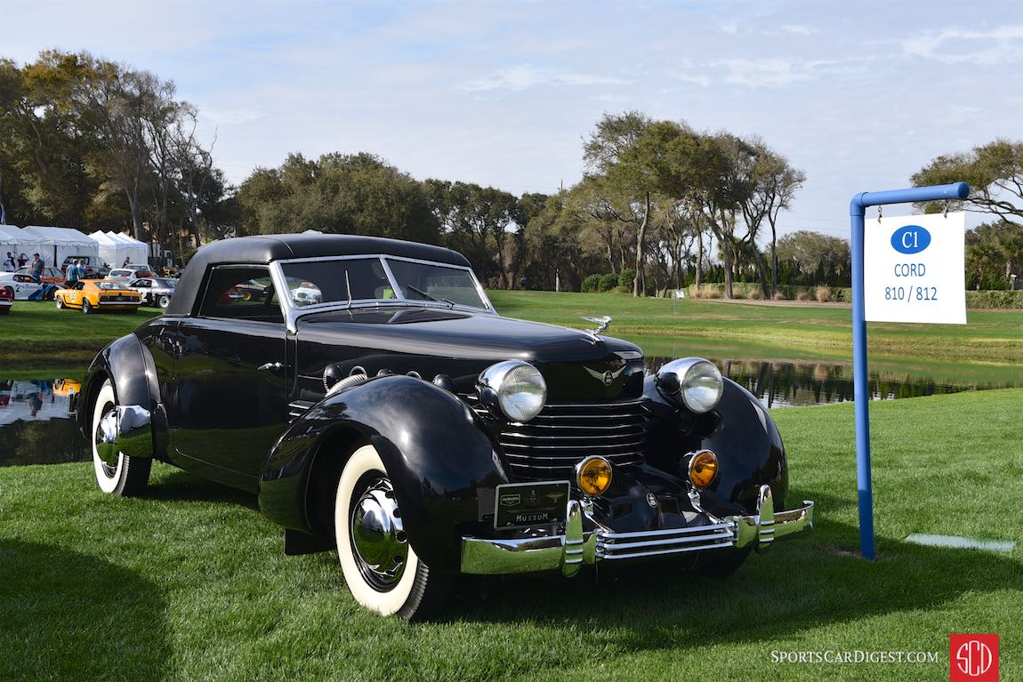 1937 Cord 812 Supercharged Coupe