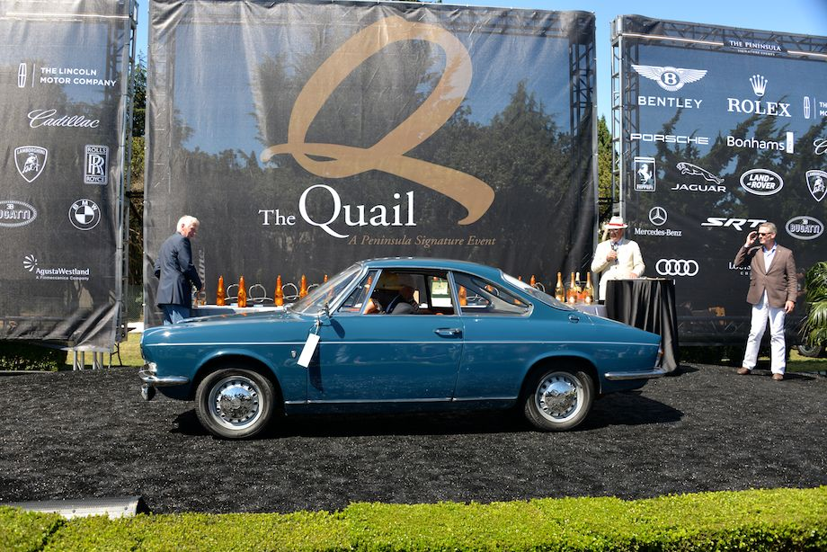 1967 Simca 1000 won FIVA Award
