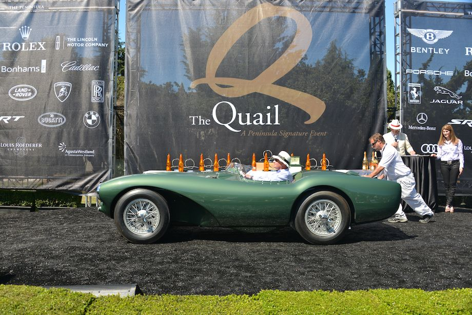 1953 Aston Martin DB3S/2 won Best in Class, Aston Martin